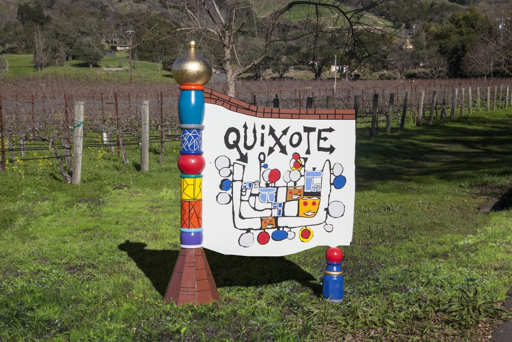 quixote monument sign
